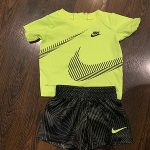 Baby Boy Nike Short Outfit